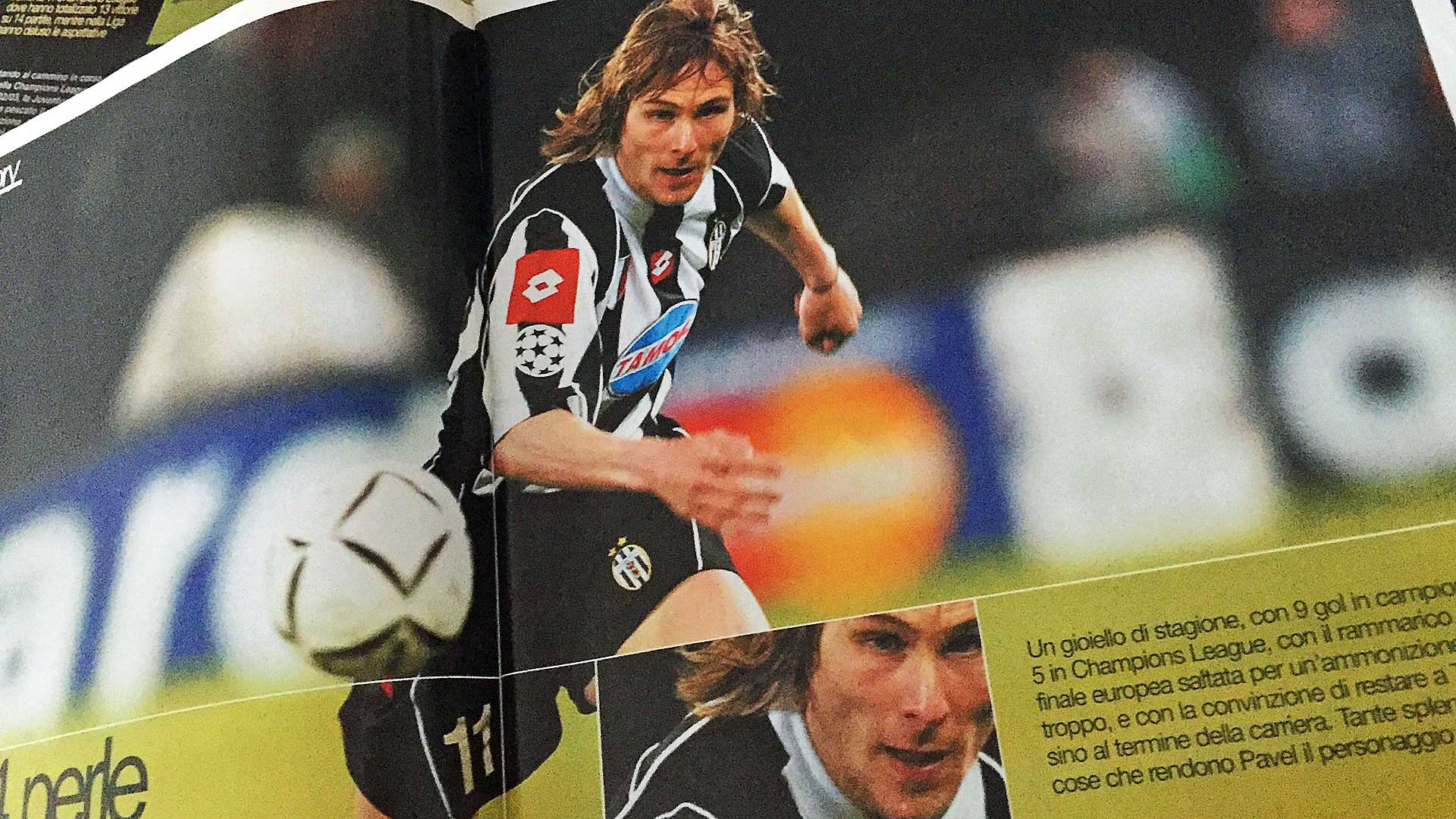 14 years after Pavel Nedved