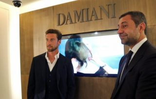 Damiani with Claudio Marchisio