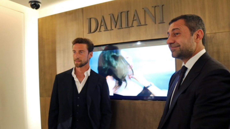 Damiani with Claudio Marchisio