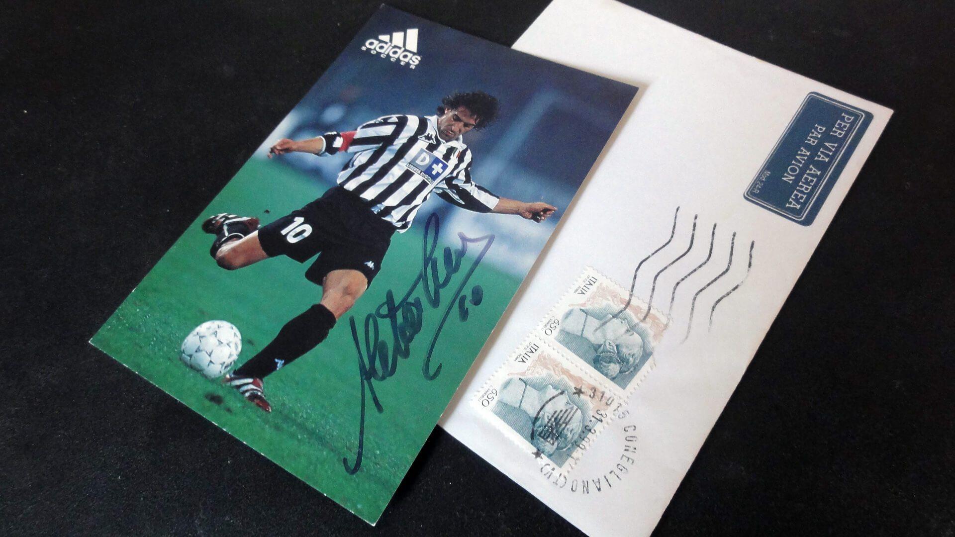 Fan letter Alessandro Del Piero