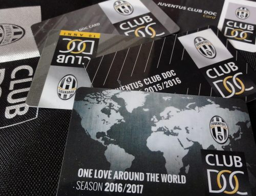 JUVENTUS CLUB DOC members card