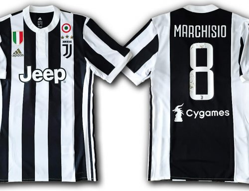 JUVENTUS JERSEY 2017/18 #8 MARCHISIO