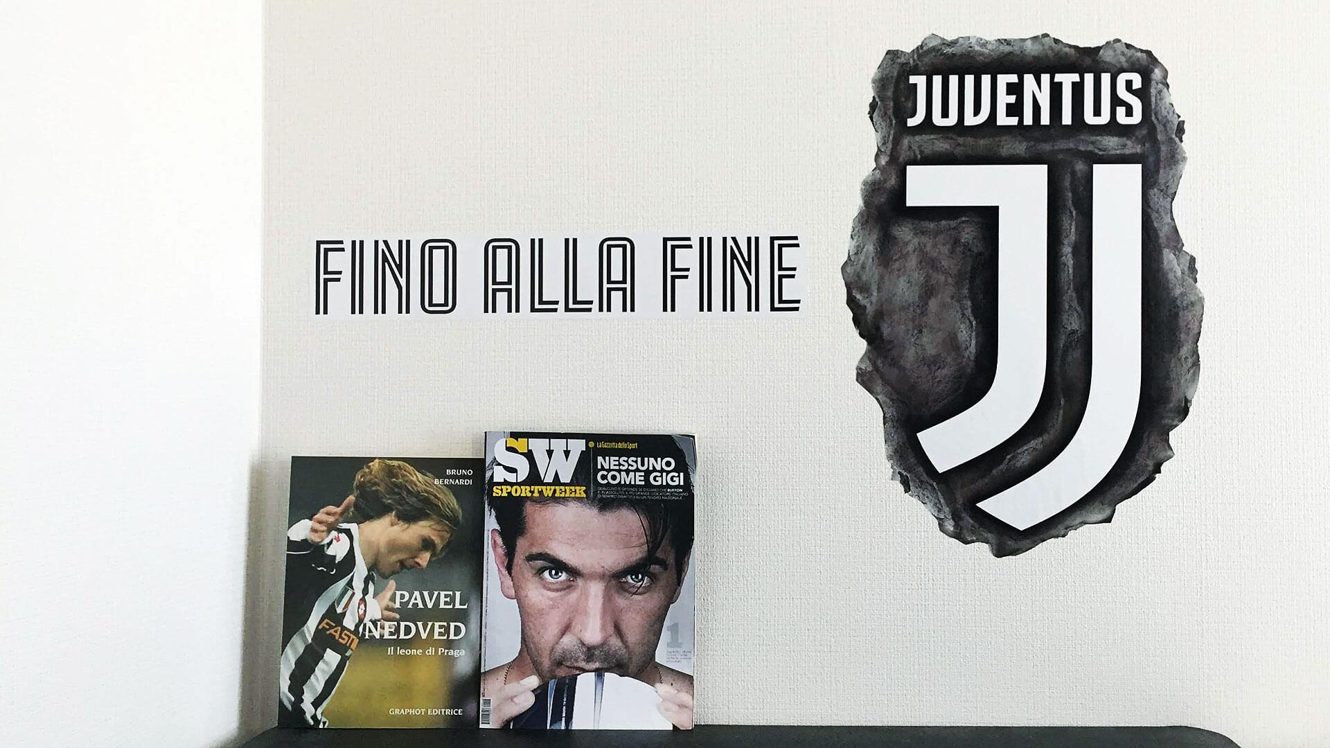 Juventus Logo Wall Sticker