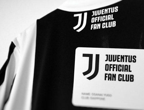 JUVENTUS OFFICIAL FAN CLUB members card 2017/18