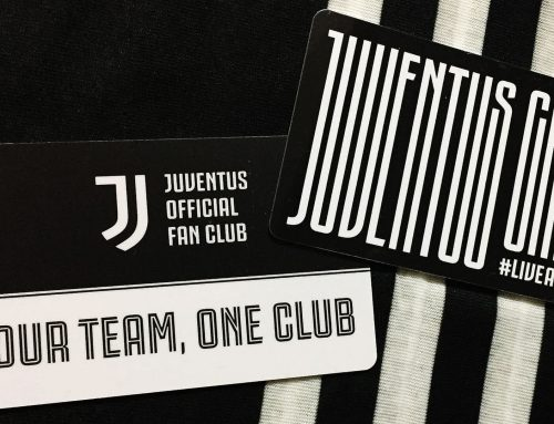 Juventus Official Fan Club Member Card 2019/20