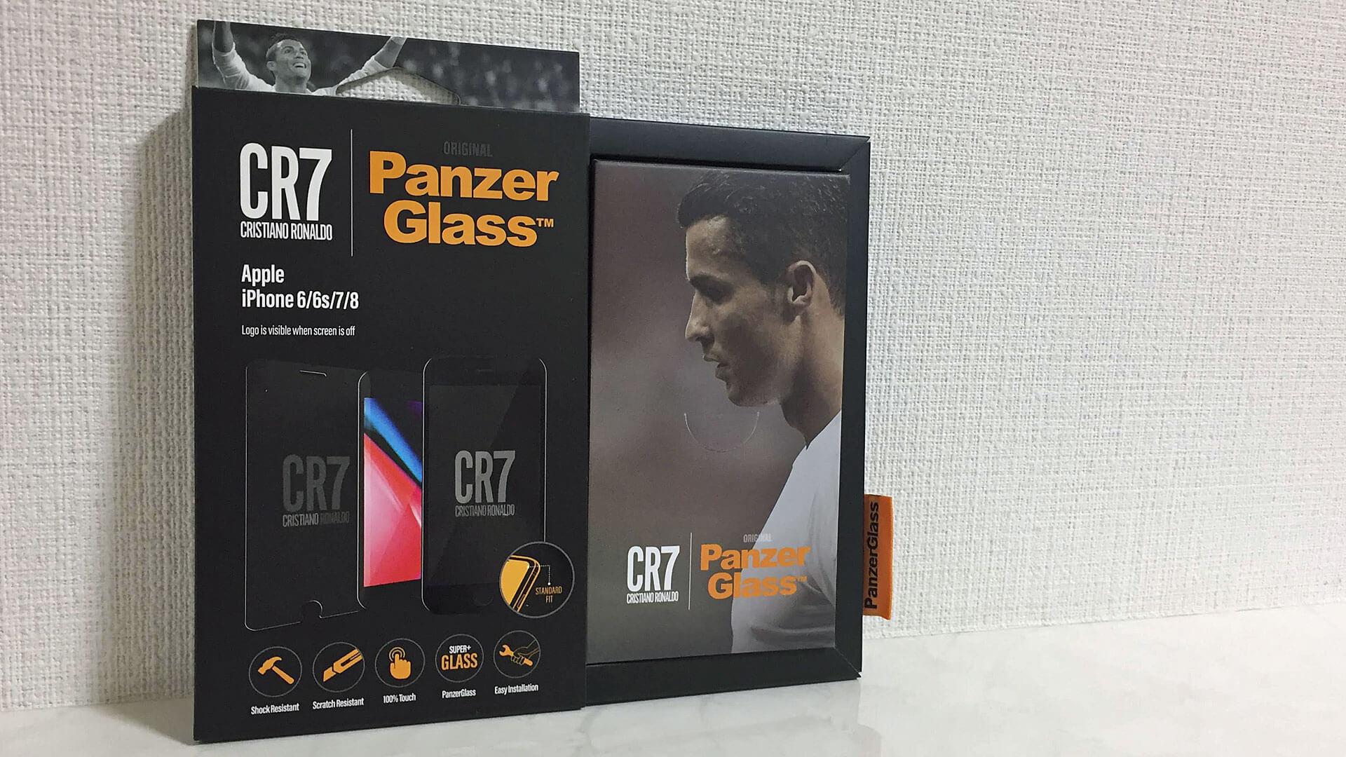 PanzerGlass CR7 - iPhone用スクリーンプロテクター!